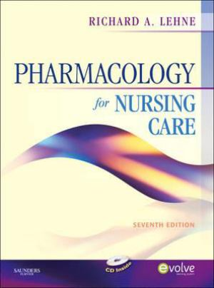 Pharmacology For Nursing Care  Text With Cd-Rom For Windows And