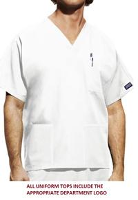 Mens Nursing Top, Wine or White