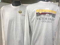 Long Sleeve T-Shirt With  Vvc Skyline
