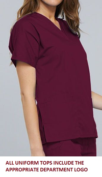 Womens Medical Assistant Top