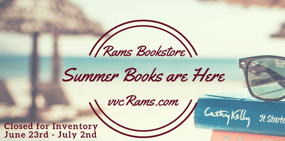 Summer Books are Here - Annual Inventory Closure